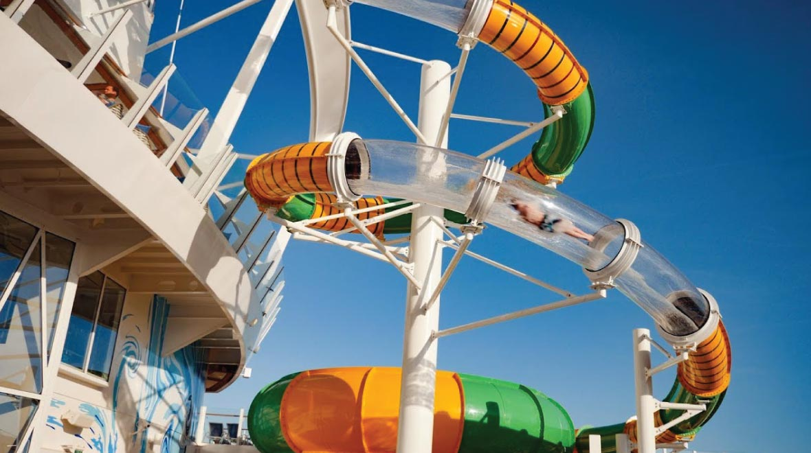 The Perfect Storm Waterslide