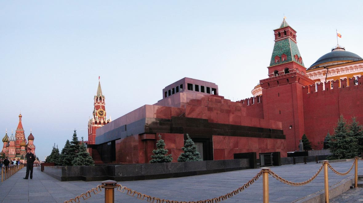 Red Square and the Lenin Mausoleum