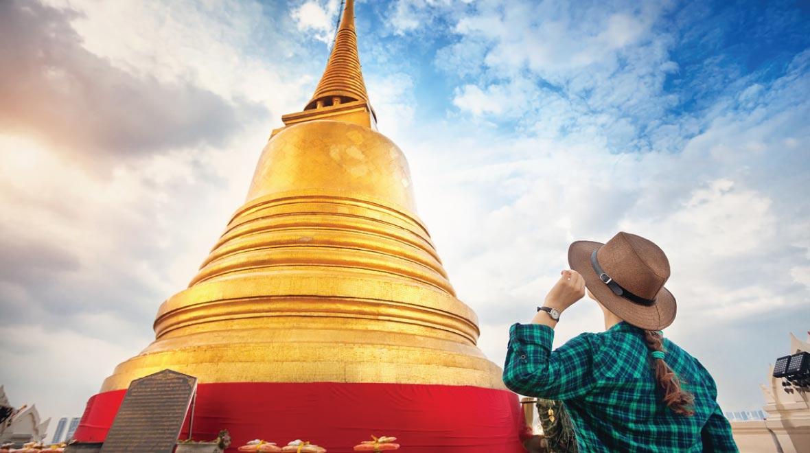 The Golden Mount Wat Saket