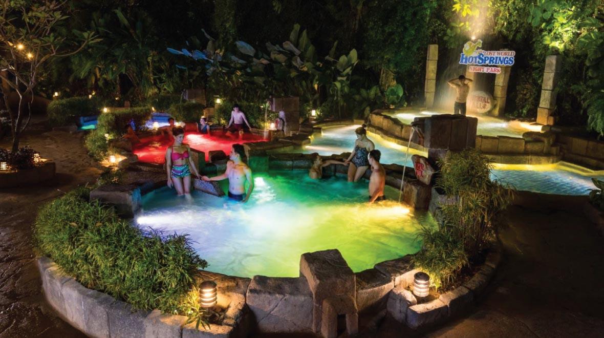 Lost World Hot Spring & Night Park