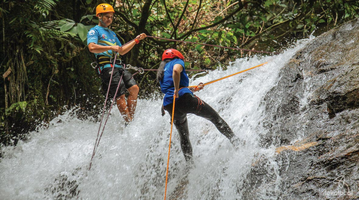 Waterfall Abseiling