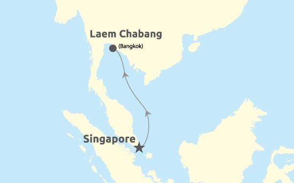 Singapore - Laem Chabang