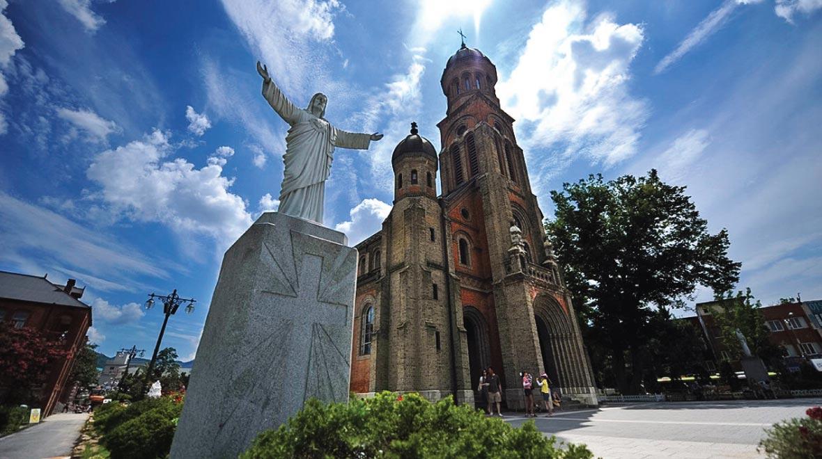 Jeonju Jeondong Catholic Cathedral