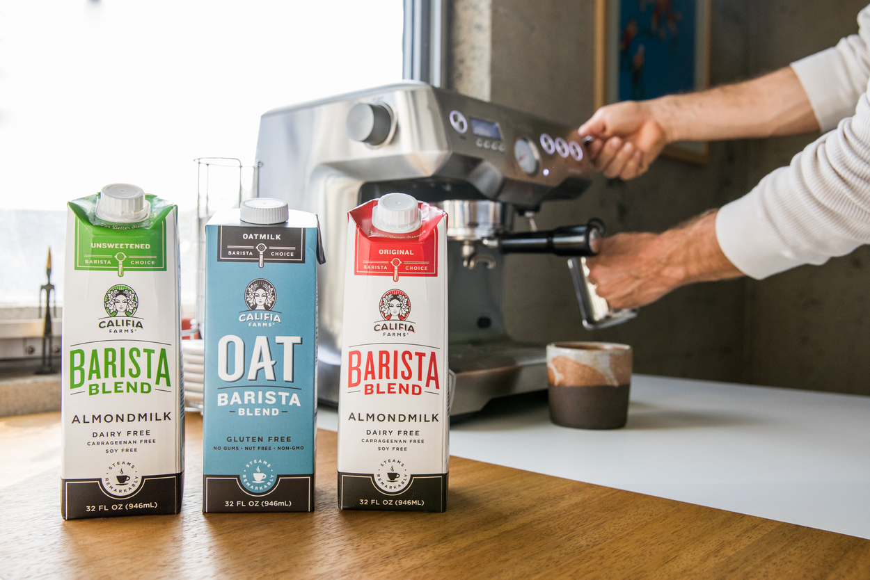 Califia Farms milks and blends