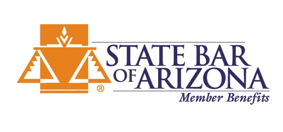 Logo for the state bar of arizona