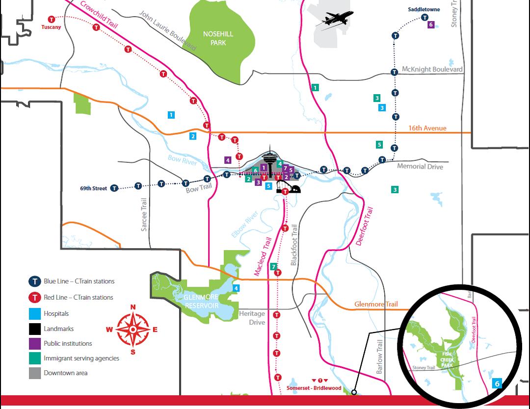 abm college city of calgary map