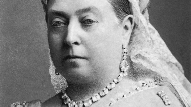 Queen Victoria profile picture.