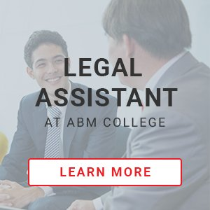 Legal Assistant CTA.