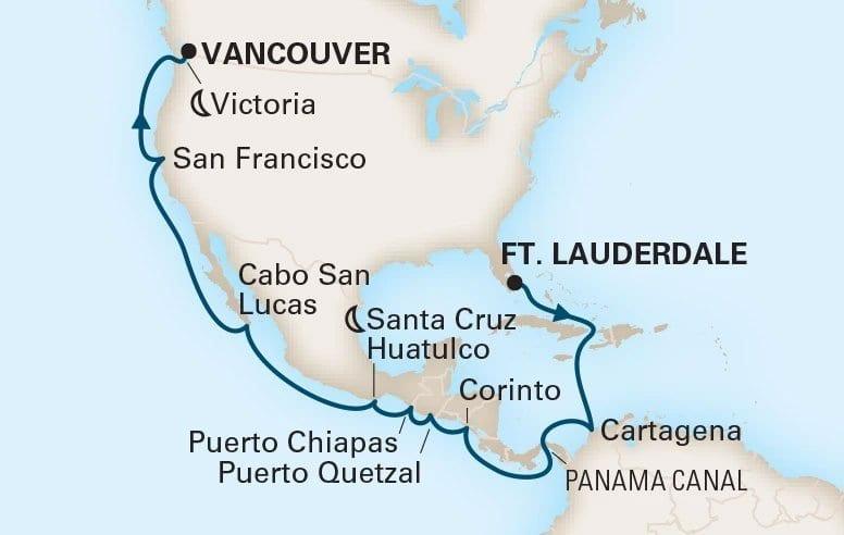 19 Night Panama Canal
