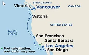 8 Night Pacific Wine Country