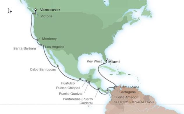 28 Night Odyssey of the Americas