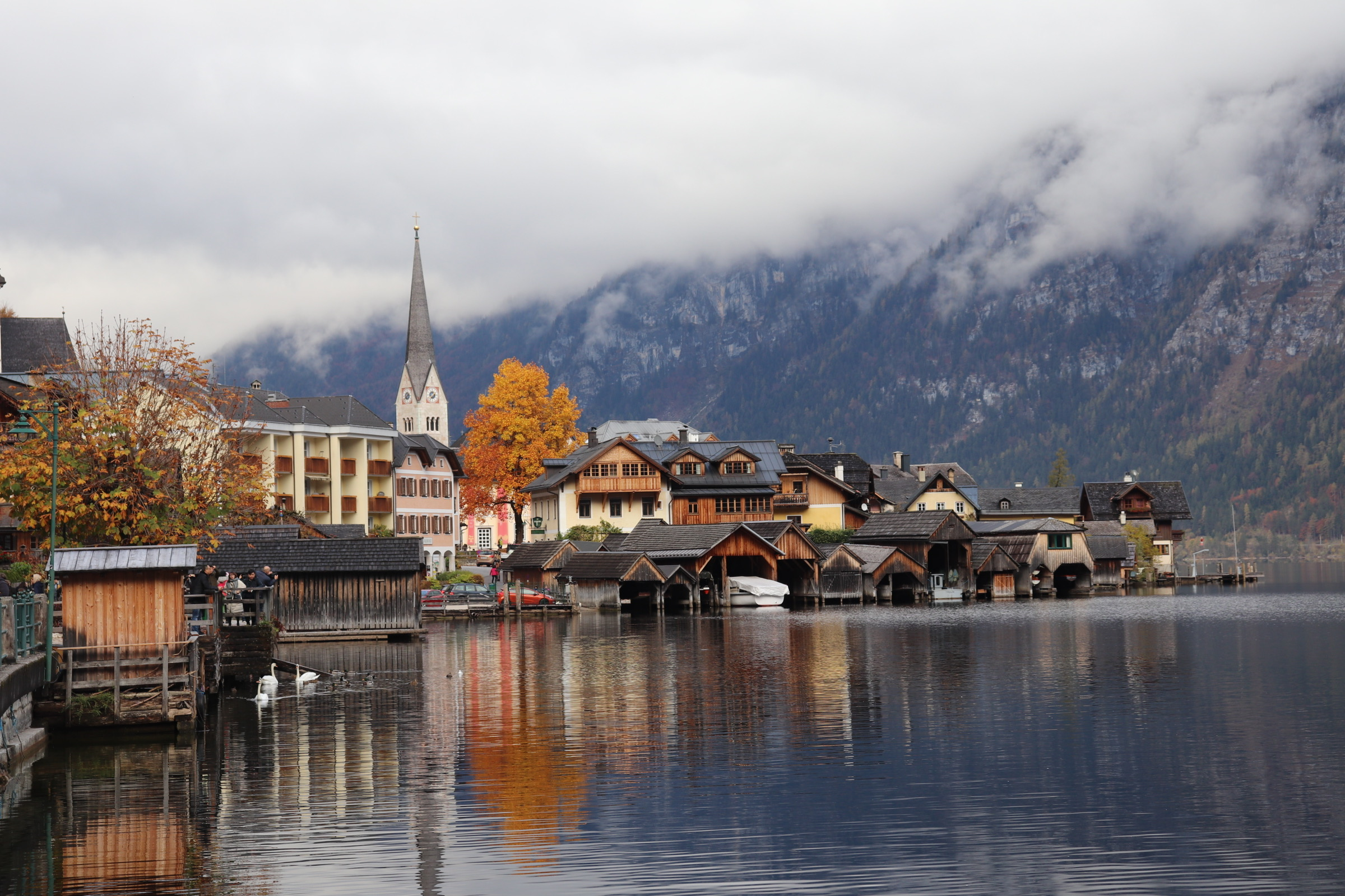 Hallstatt, Austria is one of the most beautiful places on the planet. Photo credit Shayla Frinton.
