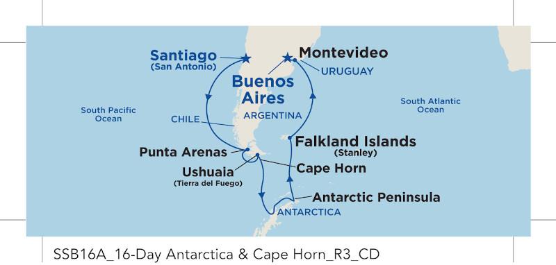 18 Night Antarctica & Cape Horn