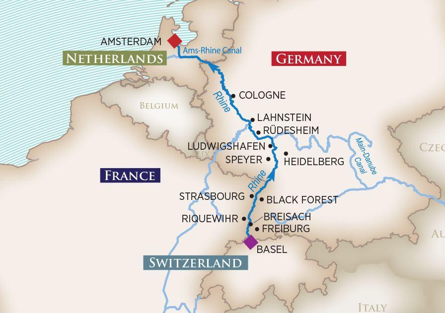 7 Night Enchanting Rhine