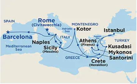 14 Night Adriatic & Aegean Medley