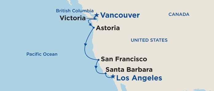 7 Night Pacific Wine Country