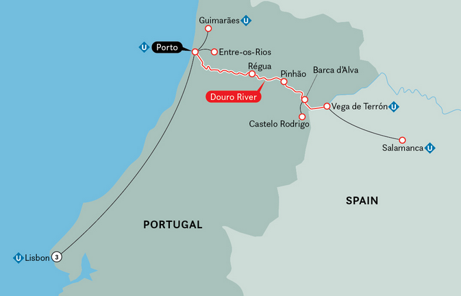 11 Night Portugal, Spain & the Douro River Valley
