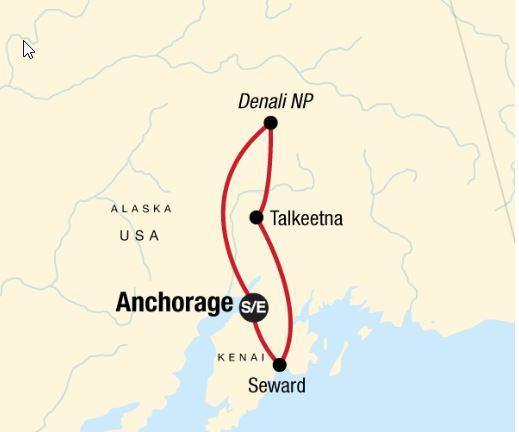 8 Day Alaska Kenai & Denali Adventure