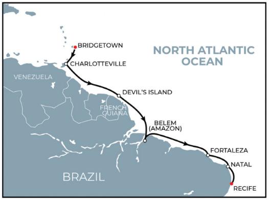 10 Night Exploring Exotic Caribbean & Amazon