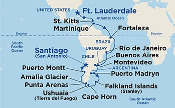 32 Night Brazilian & Cape Horn Grand Adventure