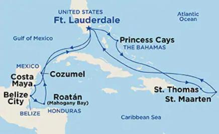 14 Night Caribbean East/West Adventurer