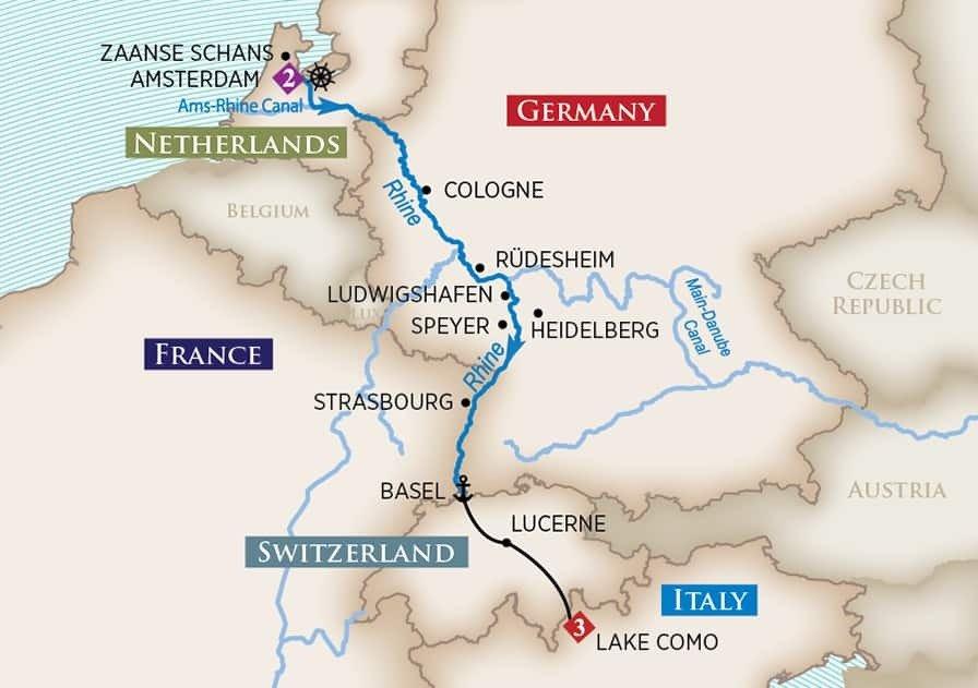10 Night Rhine Castles & Swiss Alps