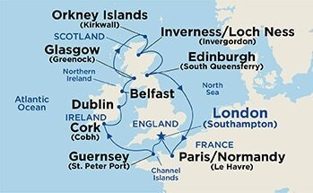 14 Night British Isles with Orkney Islands
