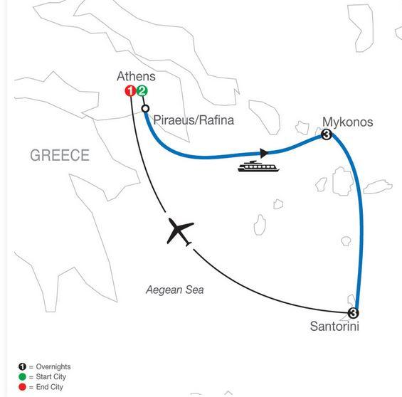 10 Day Greek Island Hopper