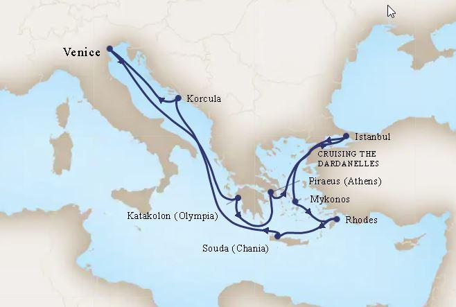14 Night Mediterranean Empires