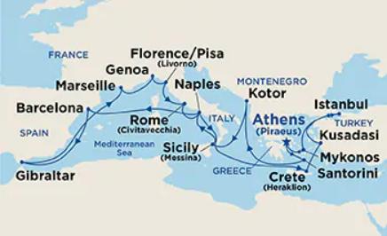 21 Night Mediterranean Collection