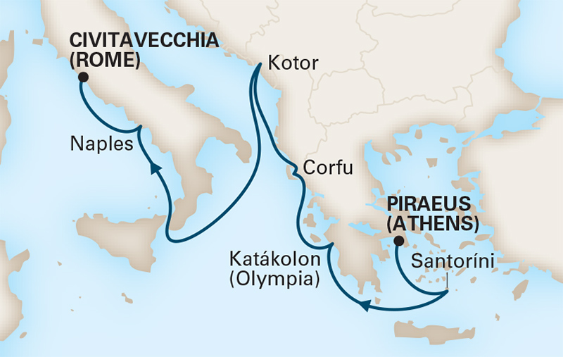 7 Night Greece and Adriatic Antiquities