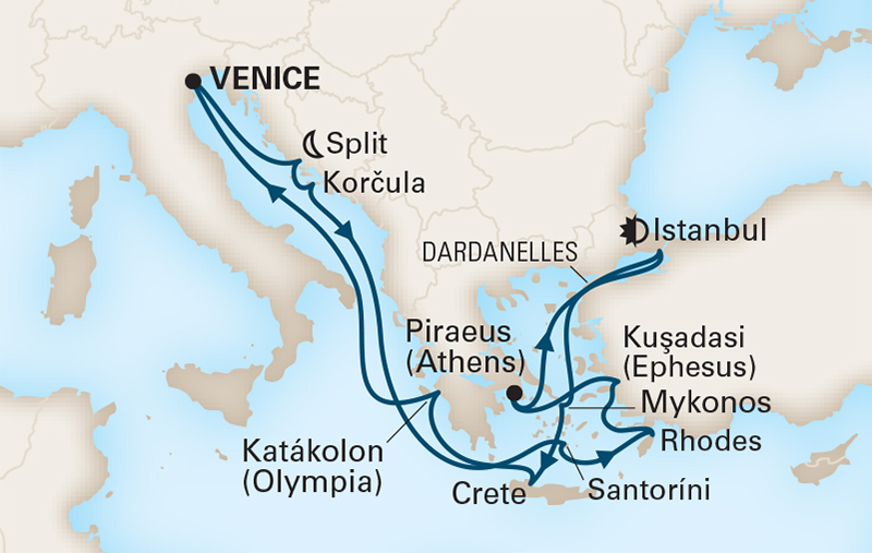 14 Night Greek Enchantment & Aegean Sunsets