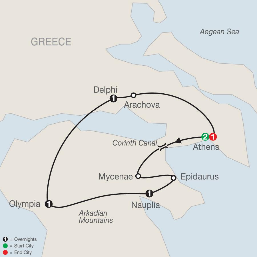 7 Day Greek Escape