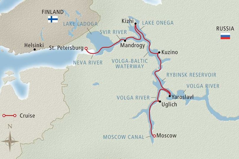 13 Day Waterways of the Tsars