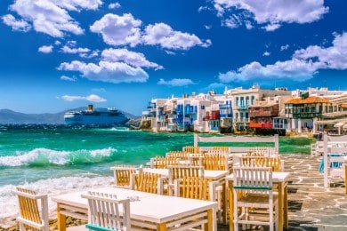 Port Focus - Mykonos, Greece