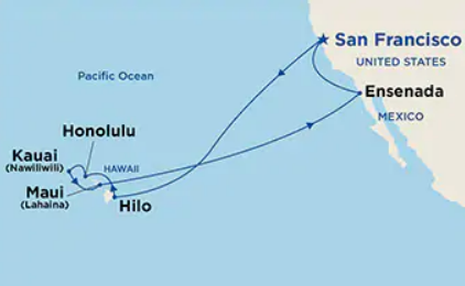 16 Night Hawaii Cruise