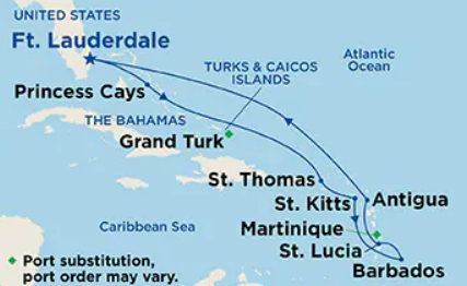 11 Night Southern Caribbean