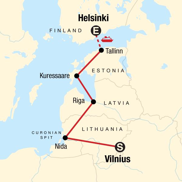 13 Day Baltic Adventure