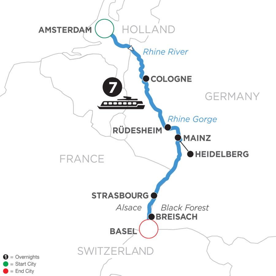 8 Day Romantic Rhine