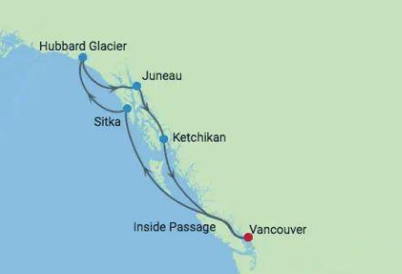 7 Night Alaska Hubbard Glacier
