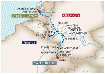 11 Night Rhine & Moselle Fairytales - Floriade Expo 2022