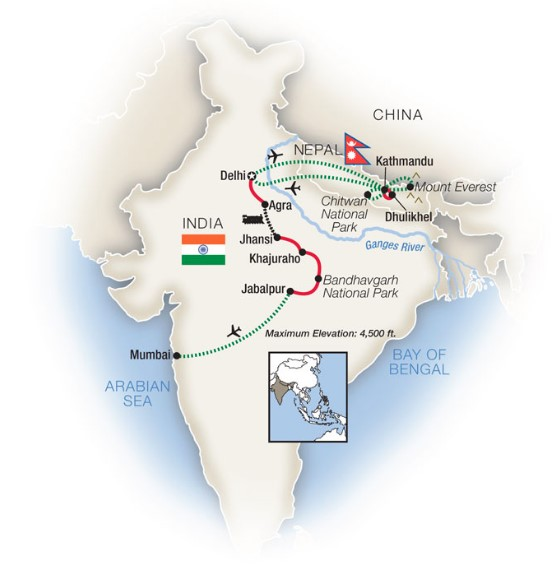17 Day Northern India & Nepal