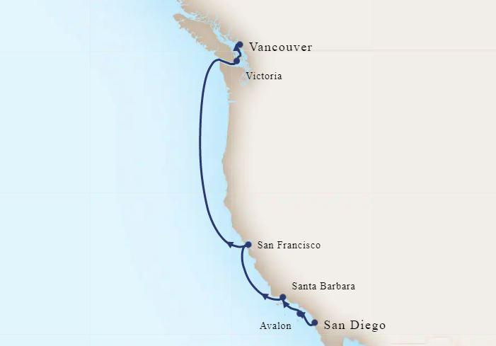 8 Night Wine Country & Pacific Northwest Coastal