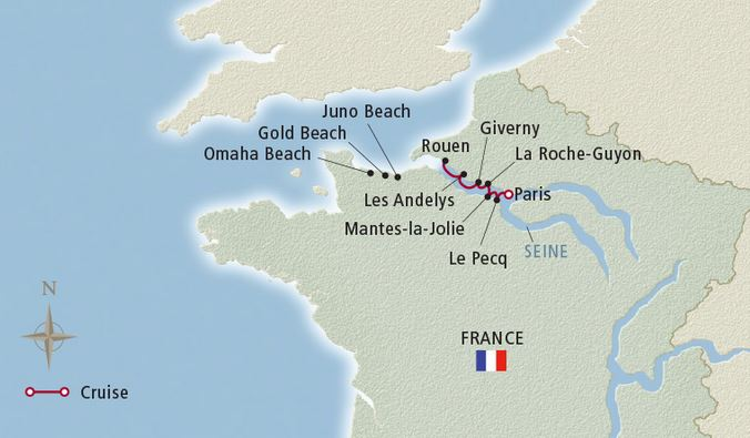 8 Day Paris & the Heart of Normandy