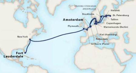 30 Night Baltic Jewels & Transatlantic