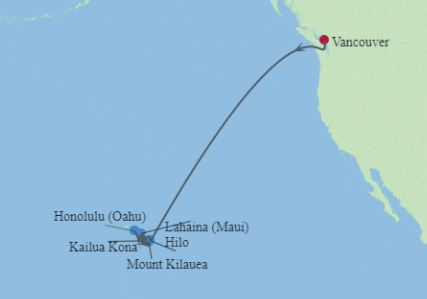 15 Night Hawaii Cruise & Stay