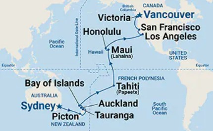 35 Night Hawaii, Tahiti & South Pacific