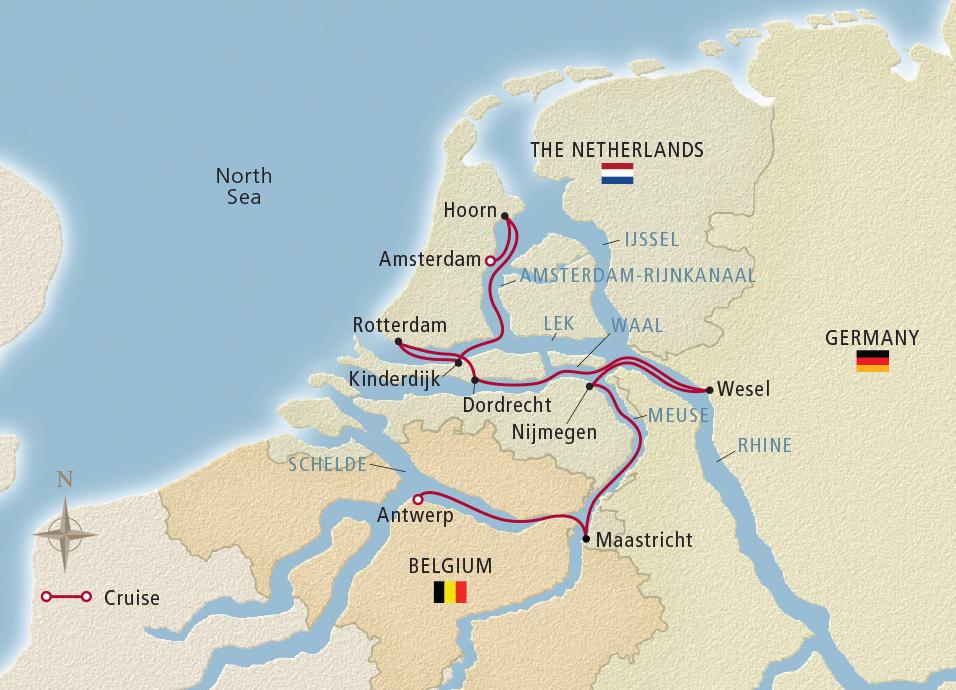10 Day Holland & Belgium