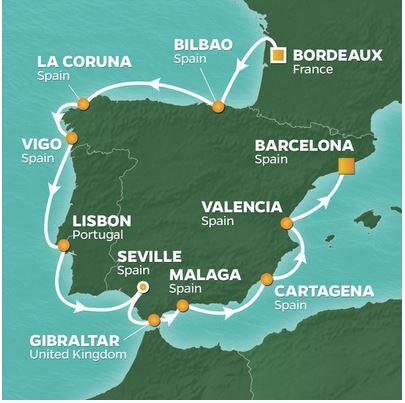 13 Night Spanish Intensive Voyage