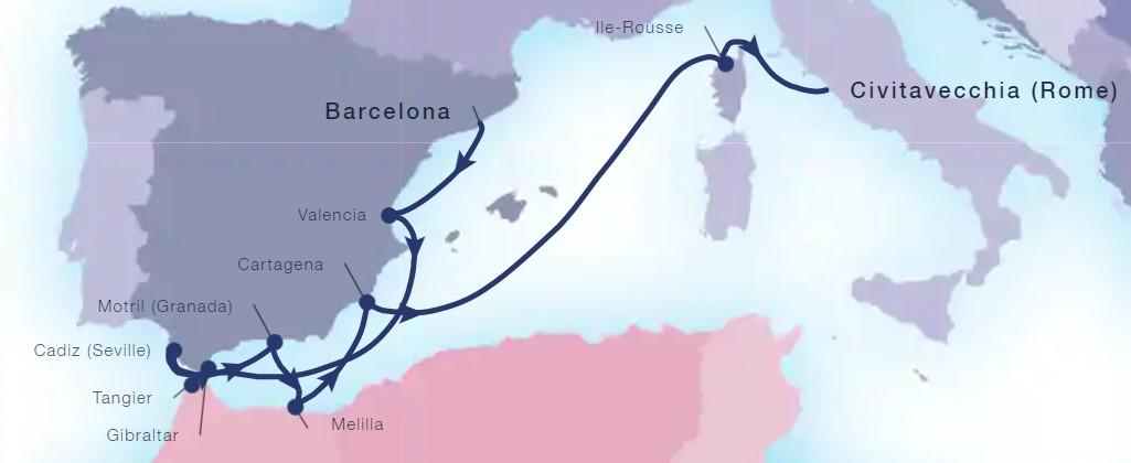 11 Night Spanish Magic & Morocco